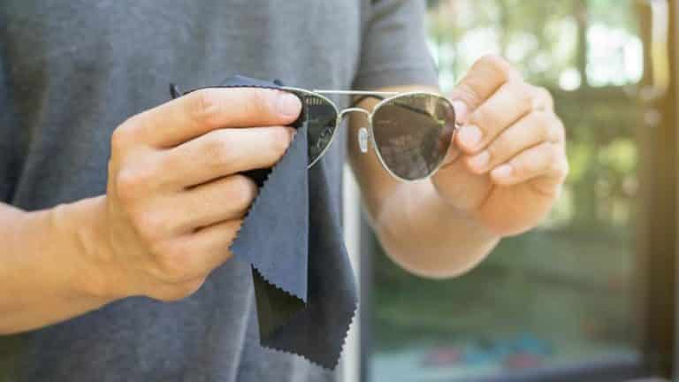 How to remove deep scratches from sunglasses